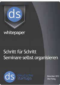 """Kostenloses E-Book """"Schritt für Schritt Seminare selbst organisieren"""""""