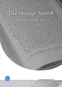 "Kostenloses E-Book ""Elberfelder Bibel"""