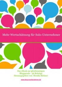 """Kostenloses E-Book """"Mehr Wertschätzung für Solo-Unternehmer"""""""