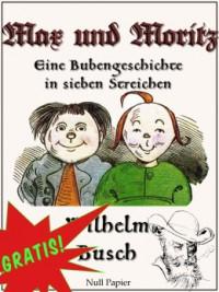 "Kostenloses eBook ""Max und Moritz"""