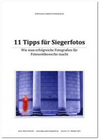 """Kostenloses eBook """"11 Tipps für Siegerfotos"""""""