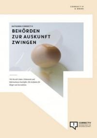 """Kostenloses eBook """"Behörden zur Auskunft zwingen"""""""