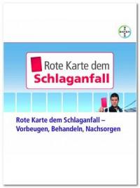 """Kostenloses eBook """"Rote Karte dem Schlaganfall"""""""