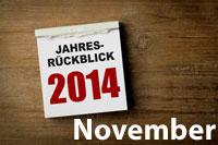Jahresrückblick November 2014