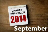 Jahresrückblick September 2014
