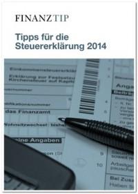 """Kostenloses eBook """"Tipps für die Steuererklärung 2014"""""""