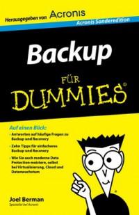 """Kostenloses eBook """"Backup für Dummies"""""""