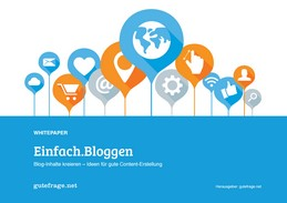 """Kostenloses eBook """"Einfach bloggen"""""""